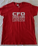 Cheer CFO tee, Ladies M