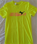 Soccer goalie girl tee, S