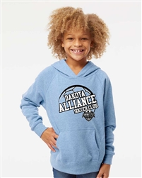 Dakota Alliance Soccer Club Raglan Sleeve Youth Hoodie