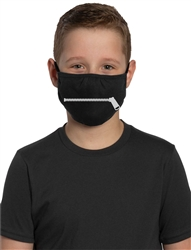Youth Adjustable Face Mask-Zipper