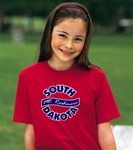 <center>South Dakota Circle t-shirt or sweatshirt
